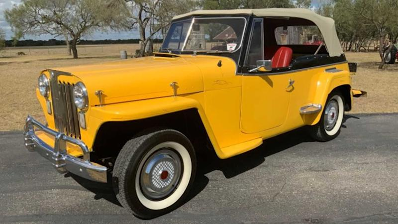 Under $20K Gets You This 1948 Willys Jeepster