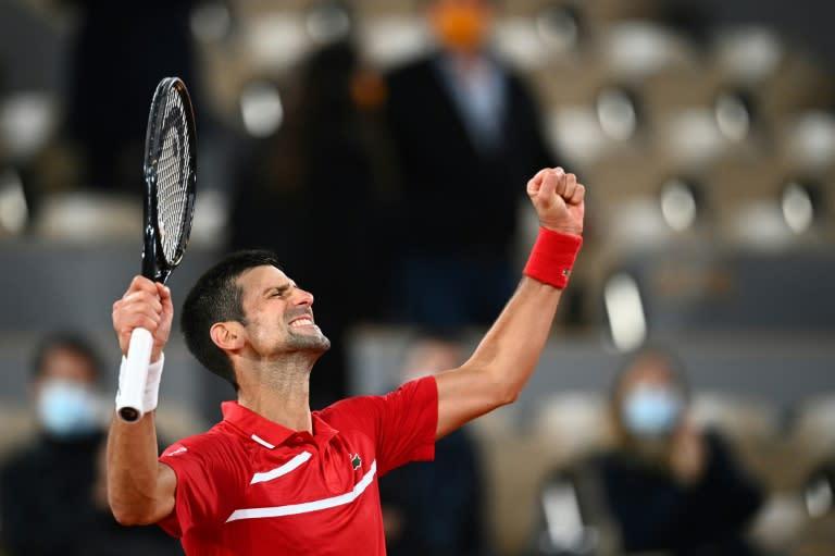 Djokovic admits 'awkward deja vu' after ball hits line judge again