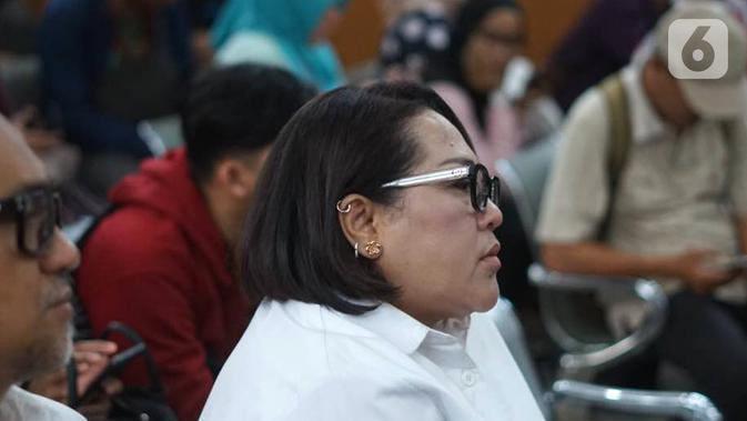 Komedian Tri Retno Prayudati atau Nunung. (Liputan6.com/Immanuel Antonius)