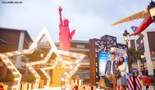 統一時代開LINE派對 華泰名品城打造聖誕村