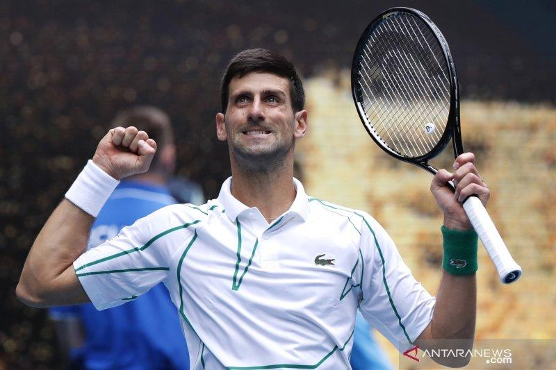 Tundukkan Ito, Djokovic melaju ke putaran tiga Australia Open