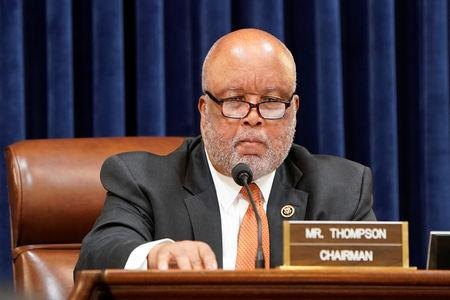 FILE PHOTO:  Homeland Security Committee Chairman Thompson chairs hearing on border security on Capitol Hill in Washington
