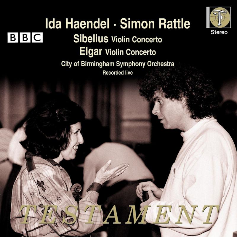 A recording of Sibelius and Elgar - with Simon Rattle