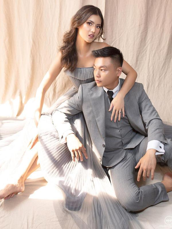 Potret Prewedding Atries Angel Mantan Chef Juna dan Kekasih. (Sumber: Instagram.com/atriesangel)