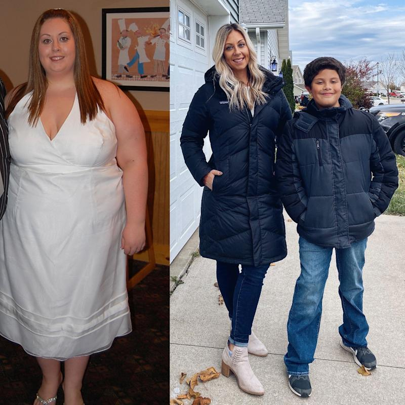 Schauna weight loss transformation fat shamed by son