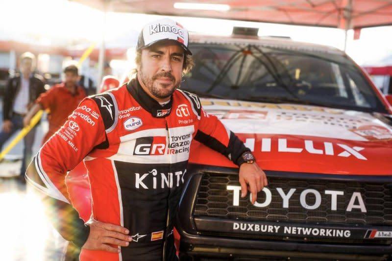 Debut di Dakar 2020, Alonso mulai nyaman libas gurun pasir Arab Saudi