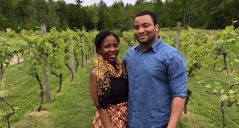 Jaleesa Jackson (left) and Chiedozie Uwandu (right)