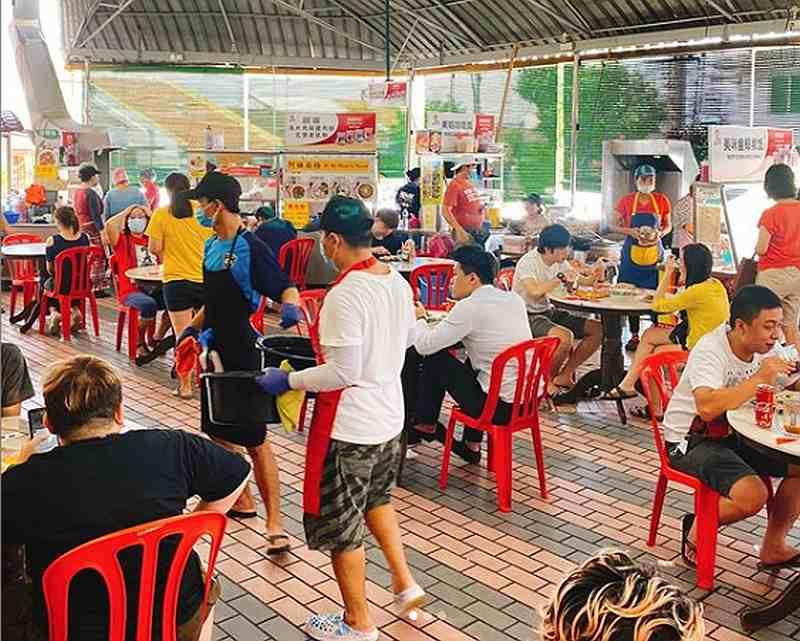 Wong says crowds are starting to pick up in his shop, but that too also causes a couple of problems. — Picture courtesy of Thong Kee Cafe