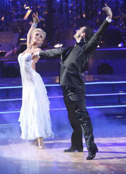 Katherine Jenkins and Mark Ballas (4/02/12)