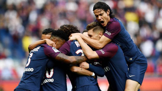 5. Paris Saint-Germain - 843 juta euro. (AFP/Franck Fife)