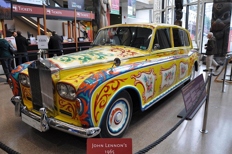 May 25: John Lennon transformed his Rolls-Royce into a psydechelic symbol of the counterculture on this date in 1967