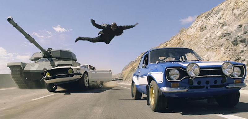 Stuntman Robert Nagle Drives Right On the Edge for 'Fast 6′
