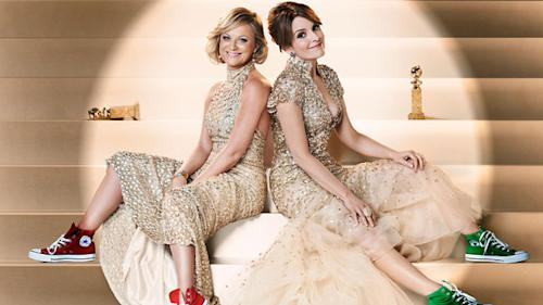 Tina Fey and Amy Poehler are ready to get Hollywood drunk on Globes night