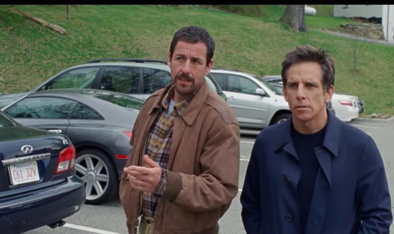 Adam Sandler and Ben Stiller in the Meyerowitz Stories