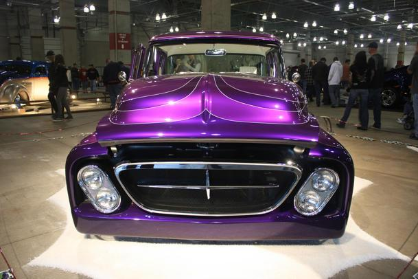 Flickr photo of the day, purple truck Tuesday