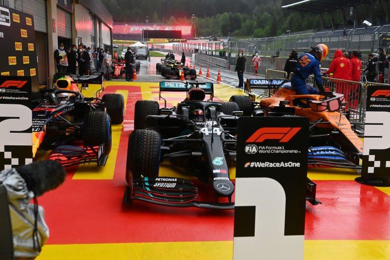 Starting grid GP Styria setelah Leclerc dan Norris diganjar penalti