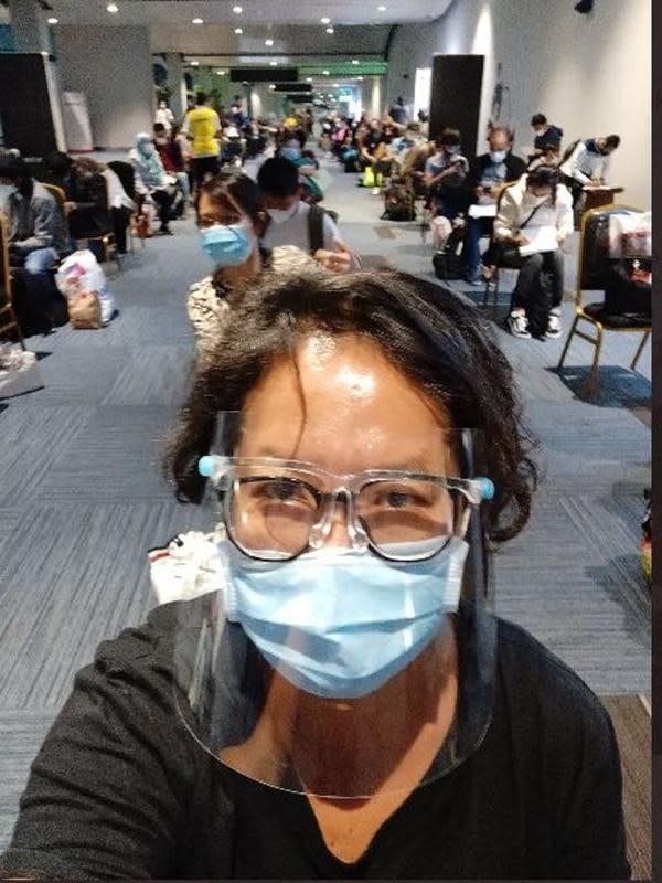 Pulang dari Turki, Travel Blogger Trinity Traveler Alami Kejadian Kurang Mengenakkan di Bandara Soetta. (dok.Twitter @TrinityTraveler/https://twitter.com/TrinityTraveler/status/1310099910453129219/Henry)