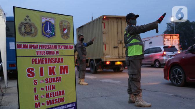 Pemprov DKI Tidak Akan Berlakukan SIKM Selama PSBB Total