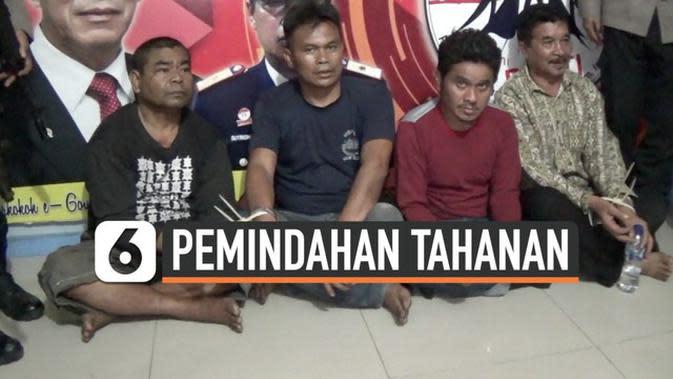 VIDEO: Pasca Kerusuhan, Narapidana Rutan Kabanjahe Dipindah ke Medan