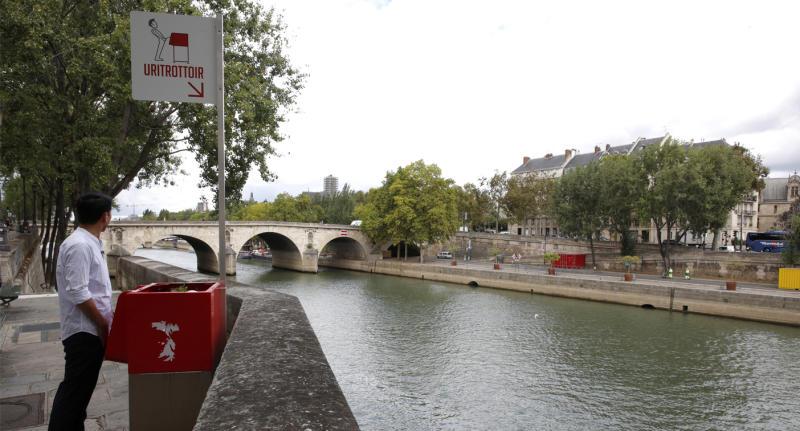 Paris street urinals near school spark outrage