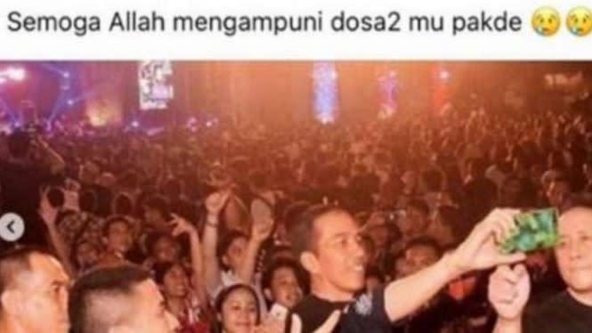 Istri Sindir Jokowi Soal Konser Amal, Prajurit TNI Dikurung 14 Hari