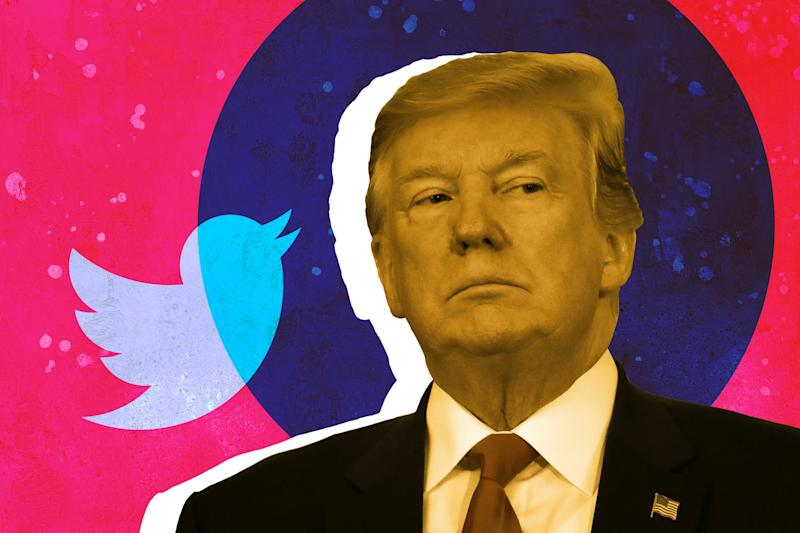 Twitter takes down a meme tweeted by Trump for copyright infringement