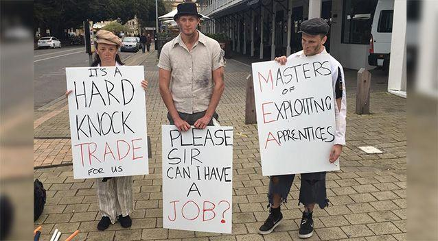 Please sir, can I have a job?': Protesters fight against changes to