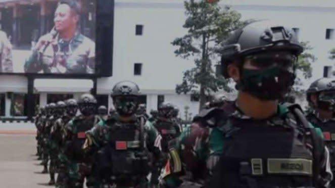 VIVA Militer : 125 prajurit TNI AD akan mengikuti latihan militer gabungan di AS