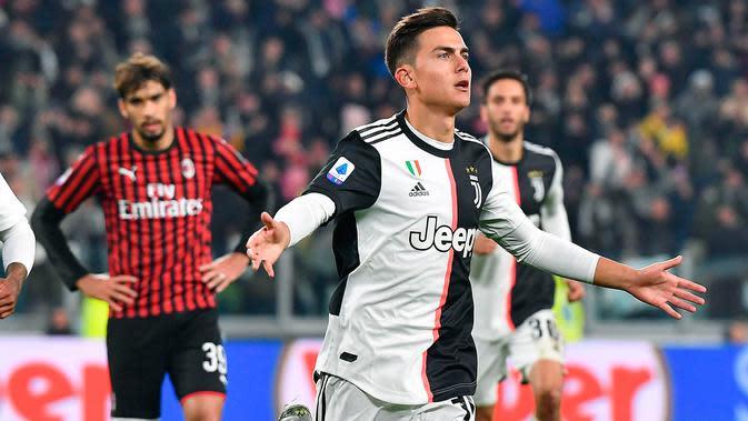 Hasil Pertandingan Serie A: Inter Milan dan Juventus Menang Tipis