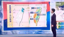 明最高溫33度 周一恐大雨這天回穩
