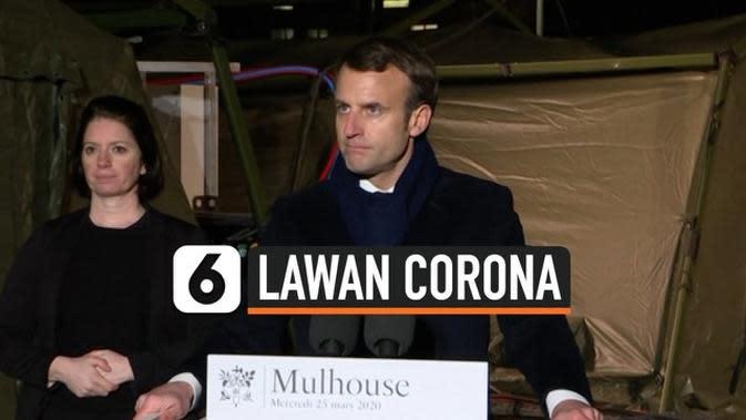 VIDEO: Lawan Corona, Prancis Luncurkan Operasi Militer Khusus