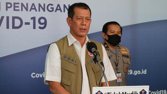 2 Bulan Jauh dari Keluarga, Ketua Gugus Tugas Covid-19 Salat Idul Fitri di Graha BNPB