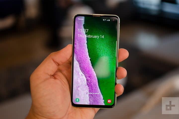 Samsung Galaxy s10e hands-on