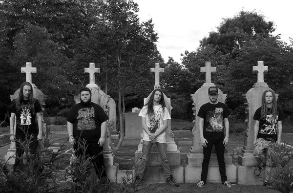 See? via Metal Bulletin Zine, band: Cemetery Filth