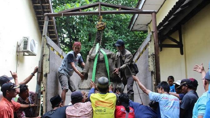 Misteri Rentetan Kejadian Aneh di Balik Pemindahan Arca Ganesha Sragen