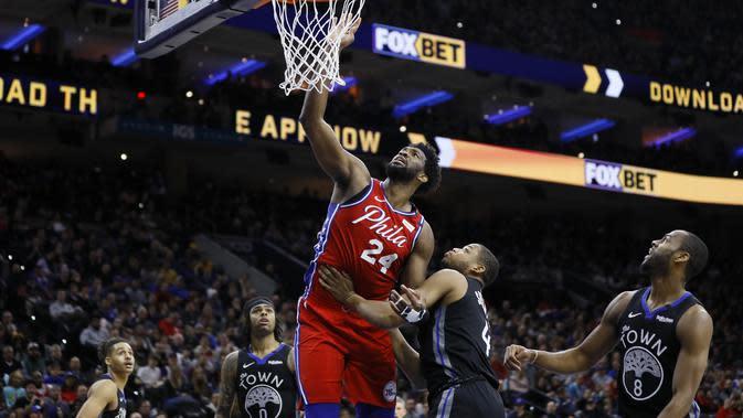 Hasil NBA: Kenang Kobe Bryant, Embiid Pakai Nomor 24, Cetak 24 Poin