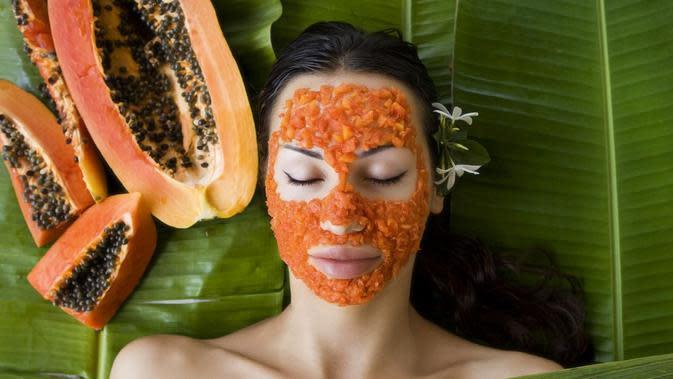 Masker Pepaya (Sumber: Kalcutta/Shutterstock)