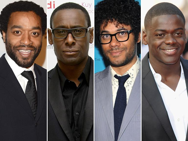 Chiwetel Ejiofor, David Harewood, Richard Ayoade, and Daniel Kaluuya