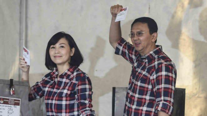 Momen terakhir kebersamaan Ahok dan Veronica Tan di muka umum