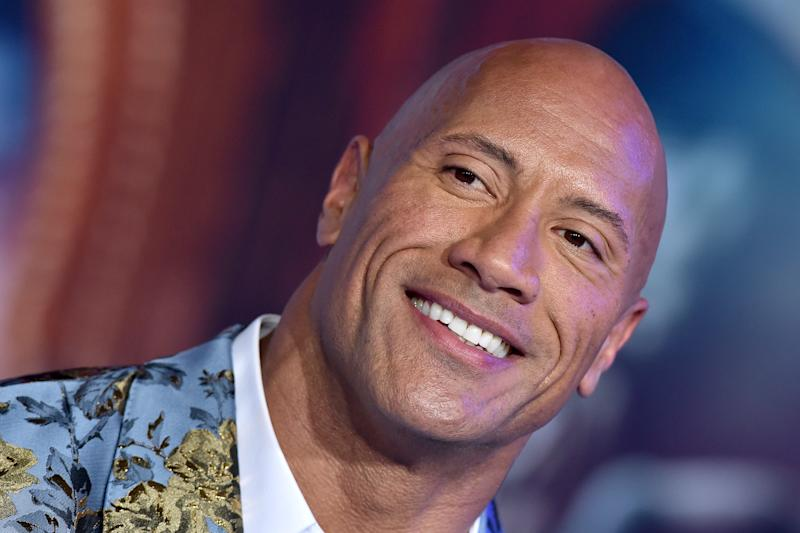 """HOLLYWOOD, CALIFORNIA - DECEMBER 09: Dwayne Johnson attends the premiere of Sony Pictures' """"Jumanji: The Next Level"""" on December 09, 2019 in Hollywood, California. (Photo by Axelle/Bauer-Griffin/FilmMagic)"""