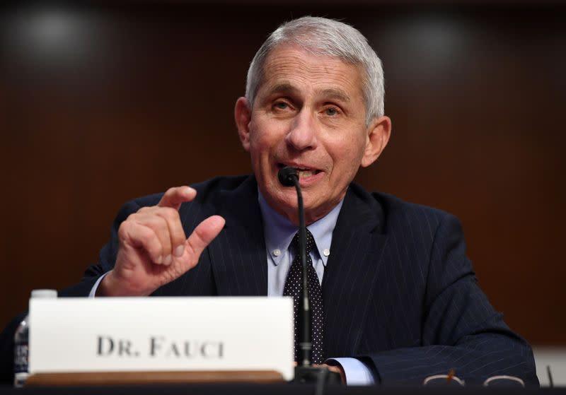 Eksklusif: Fauci mengatakan terburu-buru mengeluarkan vaksin dapat membahayakan pengujian lain