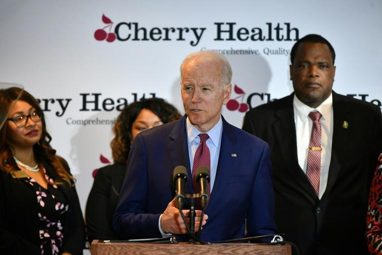 """A deceptively edited video of Democratic presidential hopeful Joe Biden, which was shared by President Donald Trump was labeled by Facebook as """"partly false"""" by Twitter as """"manipulated"""" in what appeared to break new ground for the platforms"""