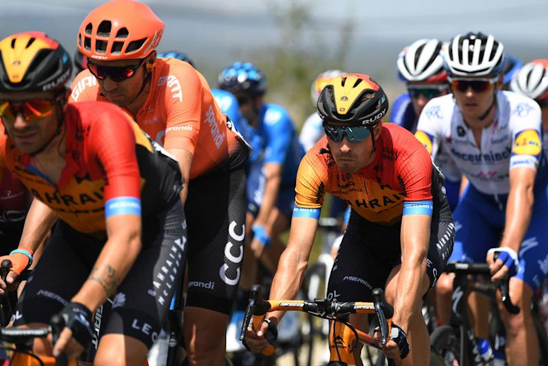 ESPINOSA DE LOS MONTEROS SPAIN JULY 30 Mikel Landa Meana of Spain and Team Bahrain McLaren during the 42nd Vuelta a Burgos 2020 Stage 3 a 150km stage from Sargentes de la Lora to Espinosa de los Monteros Picn Blanco 1486m VueltaBurgos on July 30 2020 in Espinosa de Los Monteros Spain Photo by David RamosGetty Images