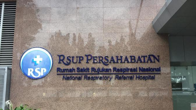 RS Persahabatan merupakan salah satu rumah sakit rujukan yang ditunjuk pemerintah untuk tangani pasien virus Corona. (Liputan6.com/Muhammad Radityo)