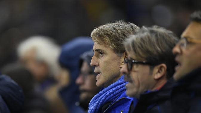 Roberto Mancini (JOHN THYS/AFP)