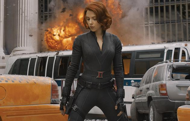 Cinematic Catsuit Competition, 2012, Scarlett Johansson, The Avengers