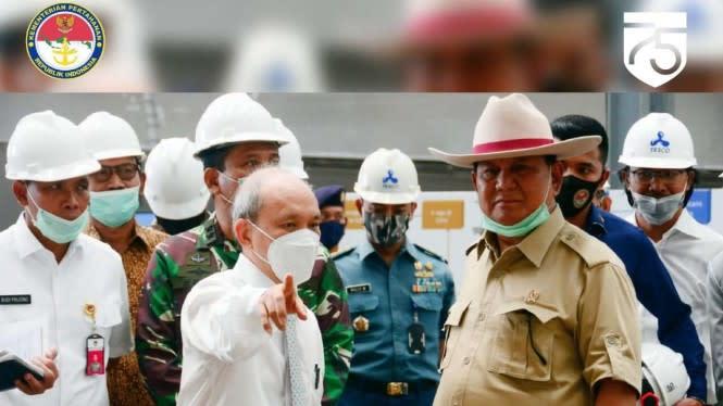 Disebut Menteri Terbaik Hasil Lembaga Survei, Prabowo: Itu Jadi Beban