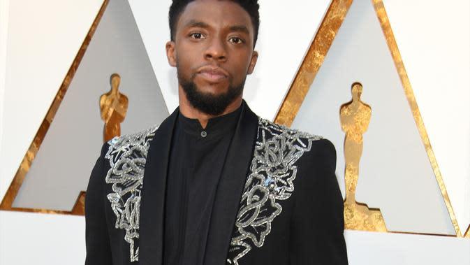 Chadwick Boseman Sang Black Panther Meninggal Dunia