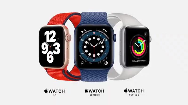圖\可測血氧濃度 ,Apple Watch Series 6 強打健康照護功能。