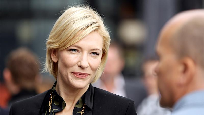 Cate Blanchett Cancels Morning Show Appearances to Mourn Philip Seymour Hoffman